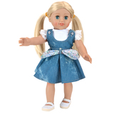 kids doll 18 inch changed dolls vinyl material american girls doll