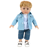 Cool doll 18 inch lovely american boy doll
