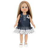 fashion model style doll toys 18 inch american girl doll for kids