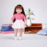 cute sleeply vinyl 18 inch electronic dolls
