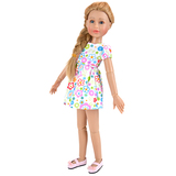 High quality OEM vinyl mini talking dolls for 18'' ball joint doll
