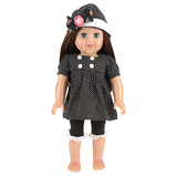 black doll suits with hats fit 18 inch american girl doll